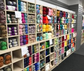 Lots of lovely yarns