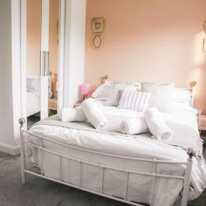 The Place to Be in Shrewsbury.  Relax in the crisply laundered sheets in our master bedroom