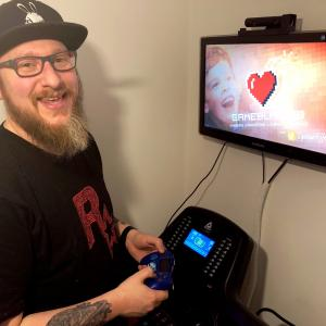 Video gamers battle through double marathon for charity