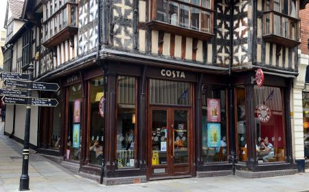 Costa Coffee, Shrewsbury