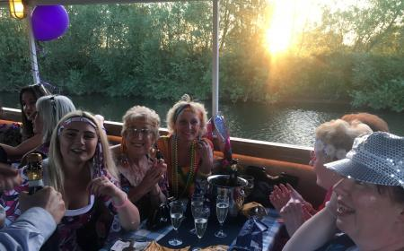 Party on the River Severn