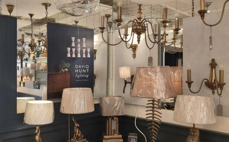 We are exclusive stockists in Shropshire for David Hunt Lighting, Made in the Cotswolds.